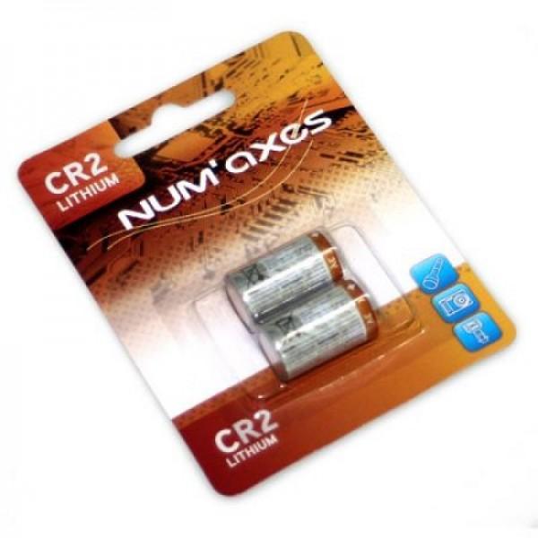 NumAxes CR2 Batterien Doppelpack
