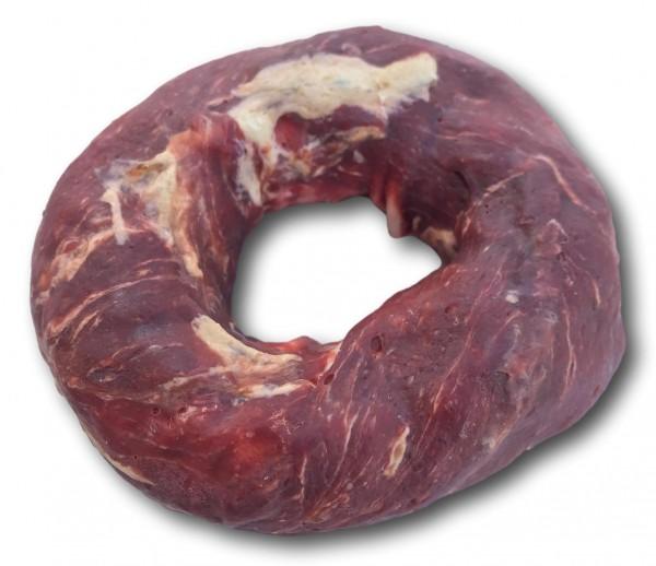 Rinderhaut Donut mit Rind und Fisch
