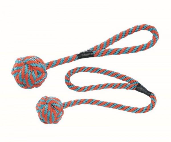 Schwimmender Ball aus Nylon mit Wurfschlaufe