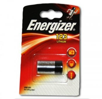 Energizer Camelion CR123A - Lithum Photozelle 3 V f