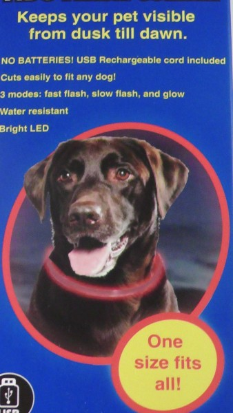 Petsport Leuchthalsband