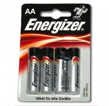 Energizer Power E91/AA BP 4 Mignonpack
