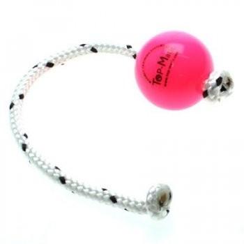 Top Matic Fun Ball Puppy PINK mit Seil