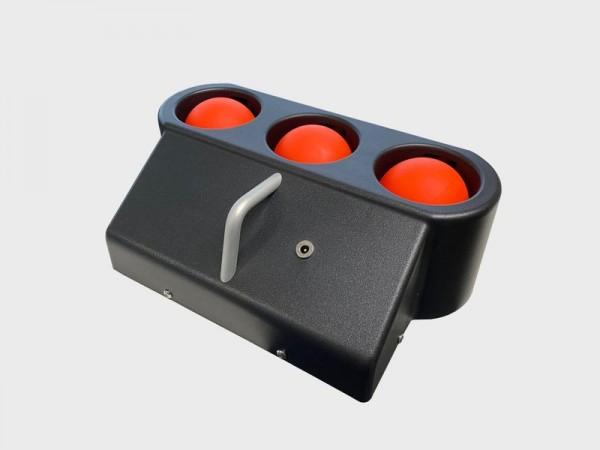 Cannonball 3er Ballwerfer wiederaufladbar