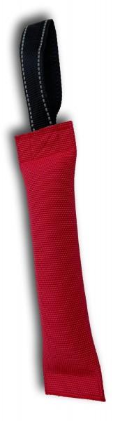 Beißwurst Trainingsdummy schwimmend 25x6cm rot