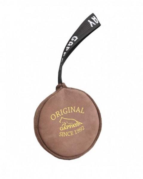 Lederball mit Handschlaufe 11cm